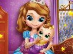 Zofia opiekuje się młodszą siostrą
