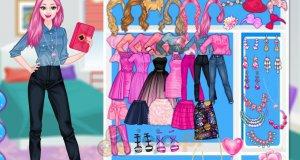 Barbie na różowo