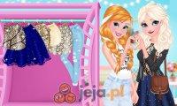 Elsa i Anna na gali
