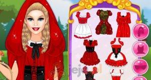 Barbie jako Czerwony Kapturek