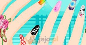 Kolorowe paznokcie