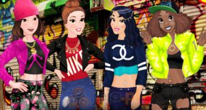 Księżniczki Disneya w stylu hip-hop