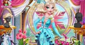Elsa w stylu art deco
