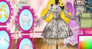 Projektowanie sukienki dla księżniczki Disneya