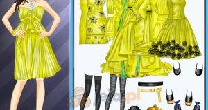 Seledynowe sukienki