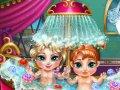 Kąpiel siostrzyczek z Krainy lodu