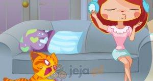 Niegrzeczny kotek