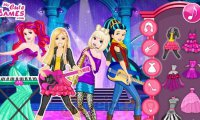 Barbie i rockowy zespół Disneya