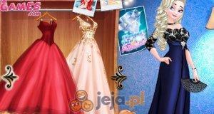 Elsa i Arielka na balu