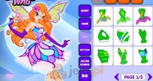 Kreator postaci: Księżniczka z Klubu Winx