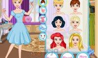 Makijaż księżniczki Disneya
