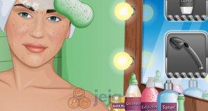 Miley Cyrus u kosmetyczki