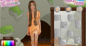 Studio makijażu - Dziewczyna z jaskini
