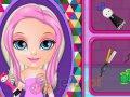 Szalone fryzury małej Barbie