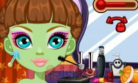 Makijaż Venus McFlytrap