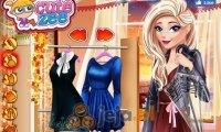 Jesienna moda z Elsą i Anną