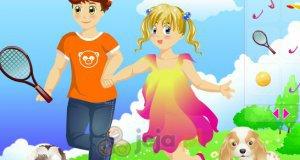 Dzieci na polanie