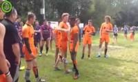Powitanie holenderskiej drużyny