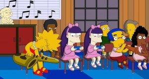 Intro Simpsonów z postaciami z Family Guy