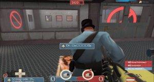 Gracze i zdjęcie laski