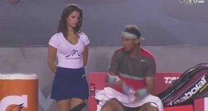 Samokontrola tenisisty Nadala
