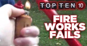 10 Najlepszych wpadek z fajerwerkami