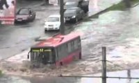 Hardkorowy kierowca autobusu