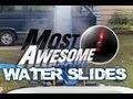 Najlepsze wodne poślizgi