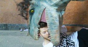 SA Wardega: Jurassic World Dinosaurs Prank