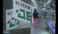 Stara reklama supermarketu z 1993 roku