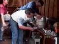 Beczki z piwem