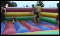 Kompilacja wpadek na trampolinach