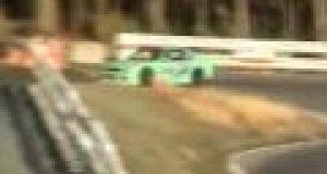Wypadek podczas driftu