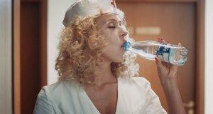 Halloweenowa reklama wody Vytautas