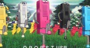 Reklama japońskiej zapalniczki USB