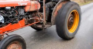 Wiejski tuning, czyli traktor w ulepszonej wersji