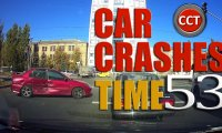 Walki agresywnych kierowców i stłuczki