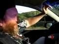 Pijany kierowca wciąż pije