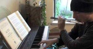 Beatbox, flet i pianino
