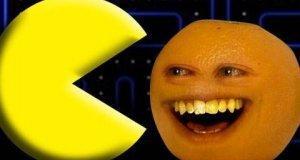 Nieznośna pomarańcza - pacman