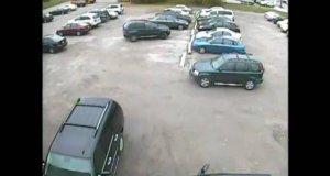 Nietypowe parkowanie