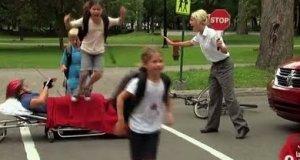 Ukryta kamera - złośliwe dzieciaki