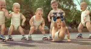Dzieciaki na rolkach
