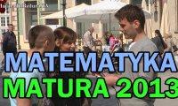 Matura 2013 z matematyki