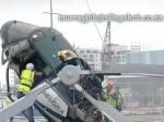 Wypadek śmigłowca przy niskiej wysokości