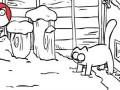 Kot Simona i śnieg