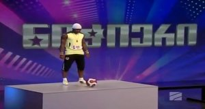 Piłkarz akrobata w gruzińskim Mam Talent
