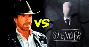 Chuck Norris vs. Slenderman