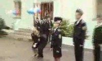 Biała gołębica pokoju w Rosji