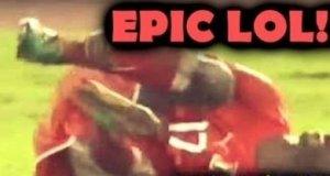 Najnowszy przykład piłkarskiego symulanta